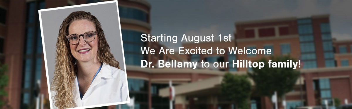 Welcome Dr. Bellany